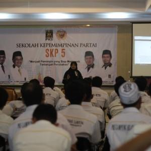 Kegiatan Sekolah Kepemimpinan Partai bersama Kader kader PKS dari DPD PKS Bandar Lampung